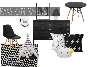 Monochrome Makeover - www.polishedpurposefulpretty.com