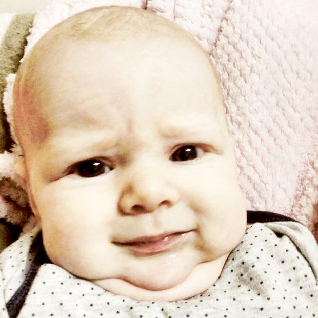 chins everywhere - gorgeous baby girl - www.polishedpurposefulpretty.com